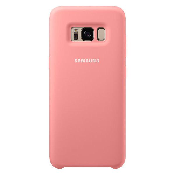 Купить Чехол Samsung Silicone Cover Pink для Samsung Galaxy S8