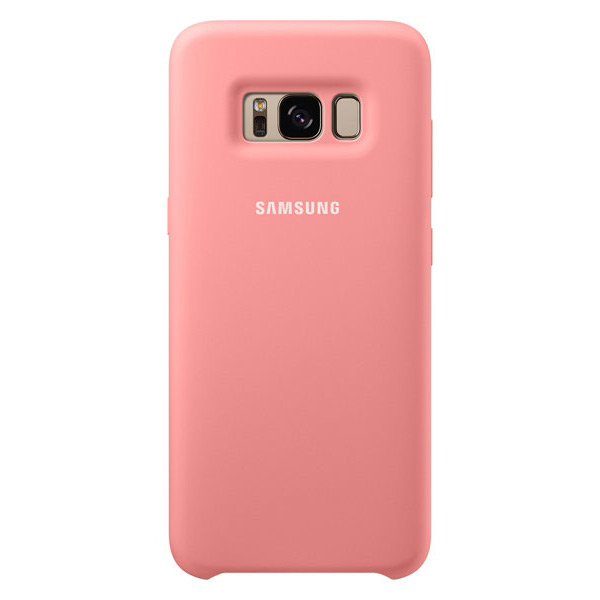 Чехол Samsung Silicone Cover Pink для Samsung Galaxy S8