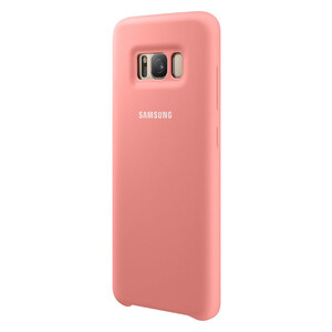 Купить Чехол Samsung Silicone Cover Pink для Samsung Galaxy S8 Plus