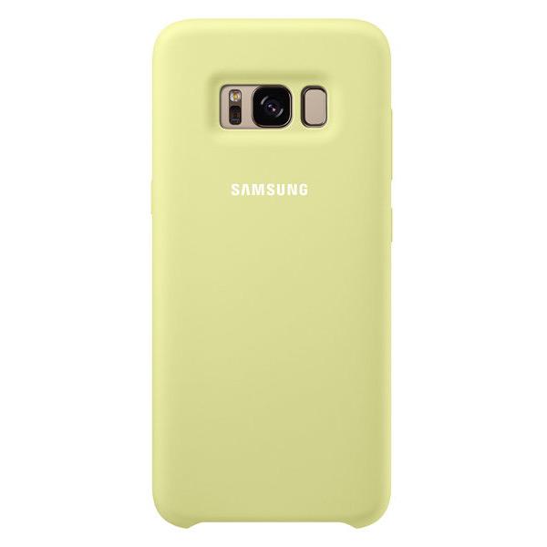 Чехол Samsung Silicone Cover Green для Samsung Galaxy S8