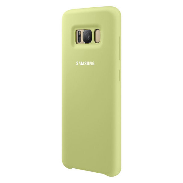 Чехол Samsung Silicone Cover Green для Samsung Galaxy S8 Plus