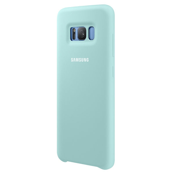 Чехол Samsung Silicone Cover Blue для Samsung Galaxy S8 Plus