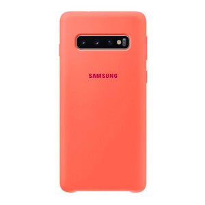 Купить Чехол Samsung Silicone Cover Pink Berry для Samsung Galaxy S10 OEM
