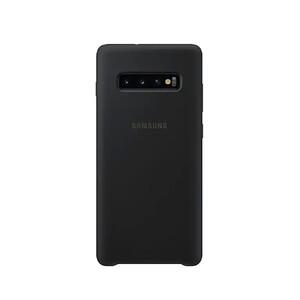 Купить Силиконовый чехол Samsung Silicone Cover Black для Samsung S10 Plus