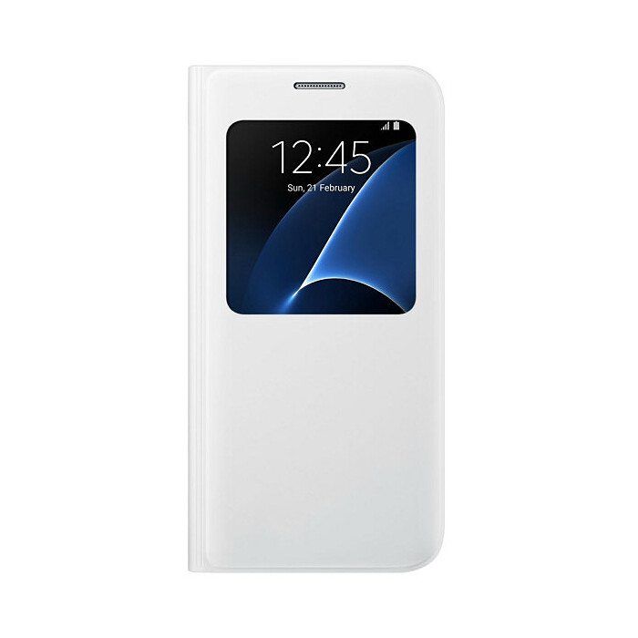 Чехол Samsung S View Cover White для Samsung Galaxy S7