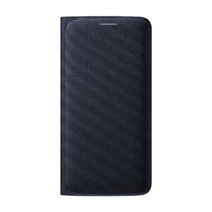 Купить Чехол Samsung Wallet Flip Cover Fabric Black Sapphire для Samsung Galaxy S6 Edge (EF-WG925BBEGUS)