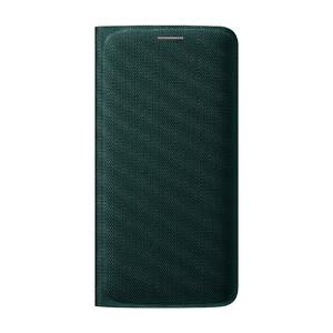 Купить Чехол Samsung Wallet Flip Cover Fabric Green для Samsung Galaxy S6 Edge (EF-WG925BGEGUS)