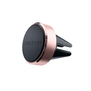 Купить Магнитный автодержатель Satechi Aluminum Magnet Vent Mount Rose Gold для телефона