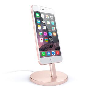 Купить Док-станция Satechi Aluminum Lightning Charging Stand Rose Gold для iPhone/iPod