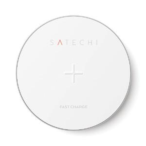 Купить Беспроводная зарядка Satechi Aluminum Wireless Charger Silver