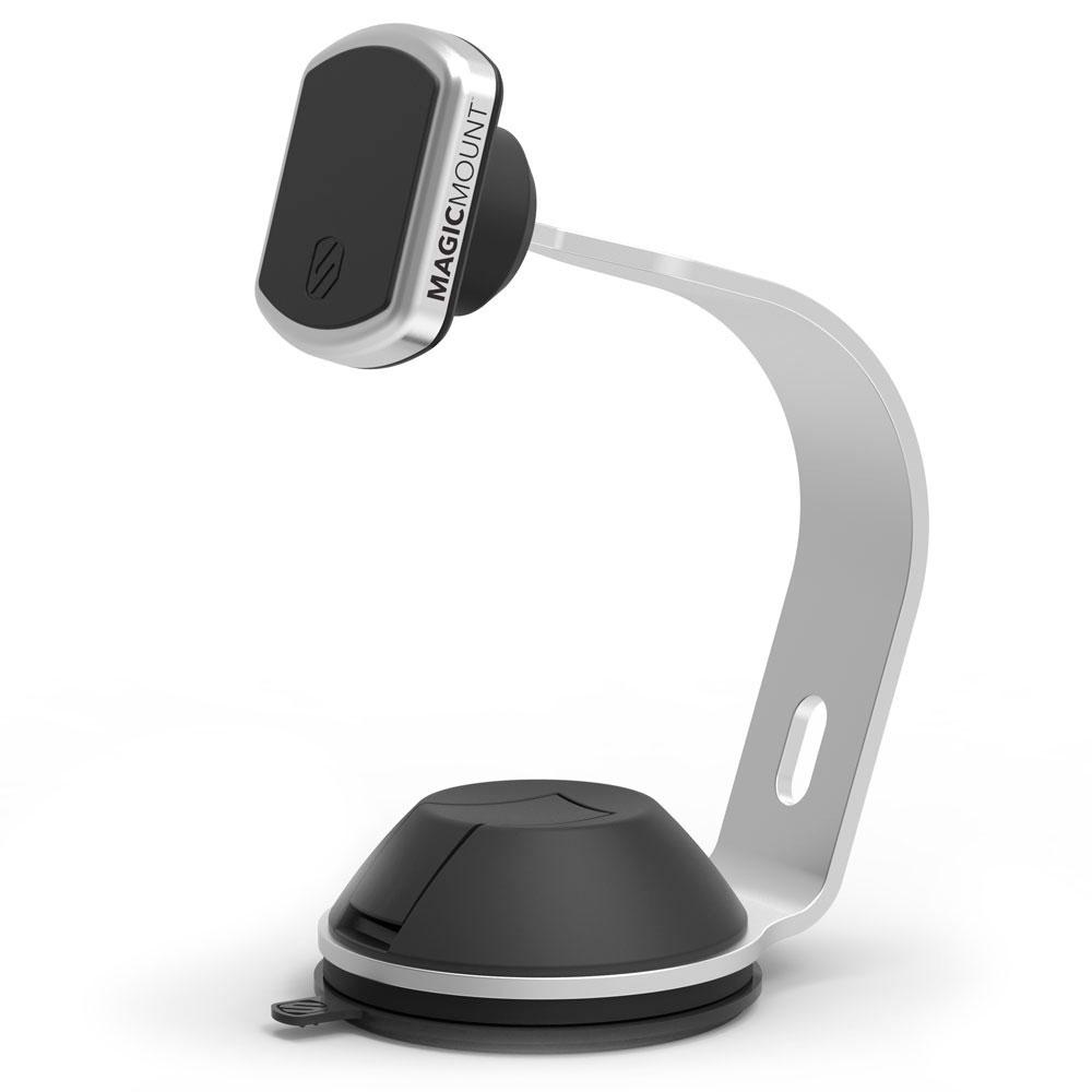 Купить Магнитный держатель Scosche MagicMount Pro Home | Office Silver для смартфонов с креплением для Apple Watch