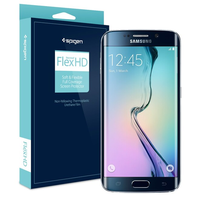 Защитная пленка Spigen FLEX HD для Samsung Galaxy S6 Edge