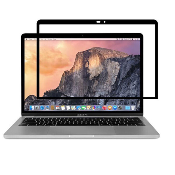 "Защитная пленка Moshi iVisor AG Black для MacBook Pro 13"" (2016 – 2020) | Air (2018 – 2020)"