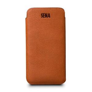 Купить Кожаный чехол Sena UltraSlim Tan для iPhone X