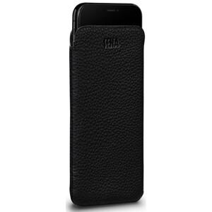 Купить Черный кожаный чехол-карман Sena Cases UltraSlim Leather Sleeve для iPhone XS Max/11 Pro Max