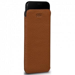 Купить Коричневый кожаный чехол-карман Sena Cases UltraSlim Leather Sleeve для iPhone XS Max/11 Pro Max