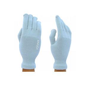 Купить Перчатки iGlove для сенсорных экранов iPhone, iPad, iPod Голубые