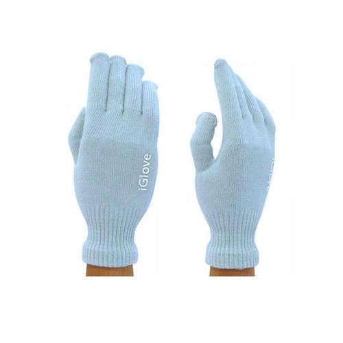 Перчатки iGlove для сенсорных экранов iPhone, iPad, iPod Голубые