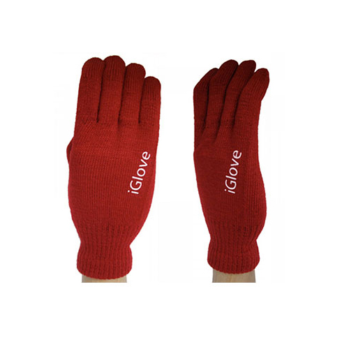 Перчатки iGlove для сенсорных экранов iPhone, iPad, iPod Красные