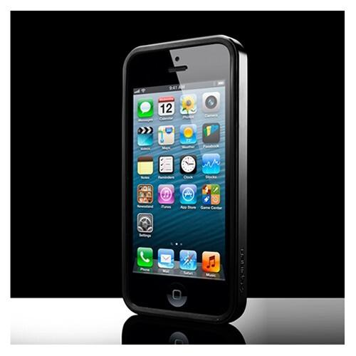 Чехол SGP Neo Hybrid EX Vivid Black ОЕМ для iPhone 5/5S/SE