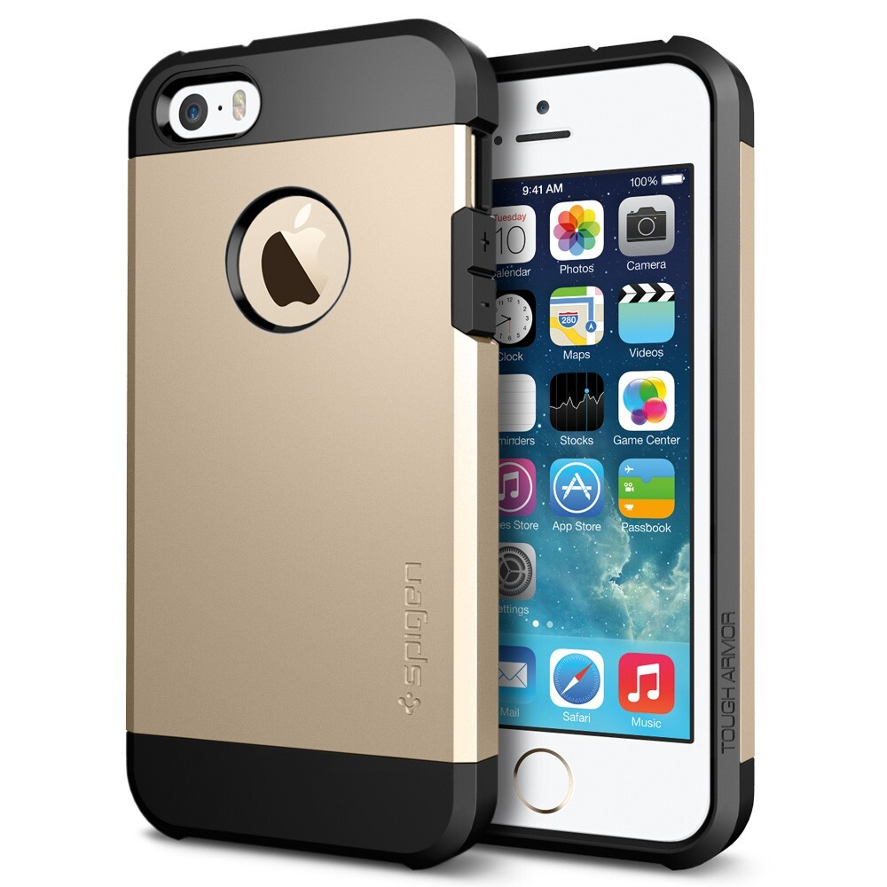 Чехол SGP Tough Armor Champagne Gold OEM для iPhone 5/5S/SE