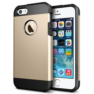 Купить Чехол SGP Tough Armor Champagne Gold OEM для iPhone 5/5S/SE