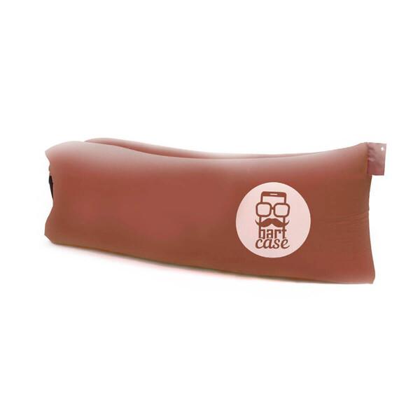 Надувной шезлонг (ламзак) BartCase Коричневый (без кармана)