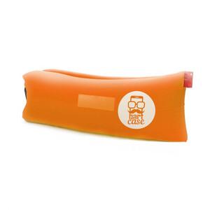 Купить Надувной шезлонг (ламзак) BartCase Оранжевый (без кармана)