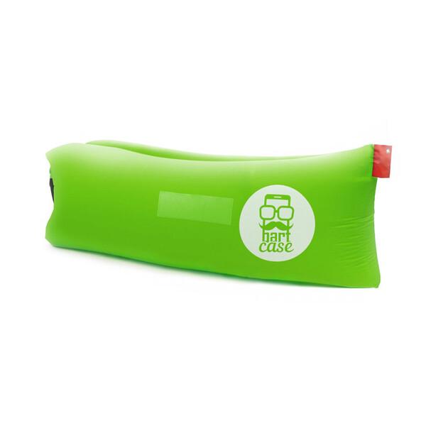 Надувной шезлонг (ламзак) BartCase Зеленый (без кармана)