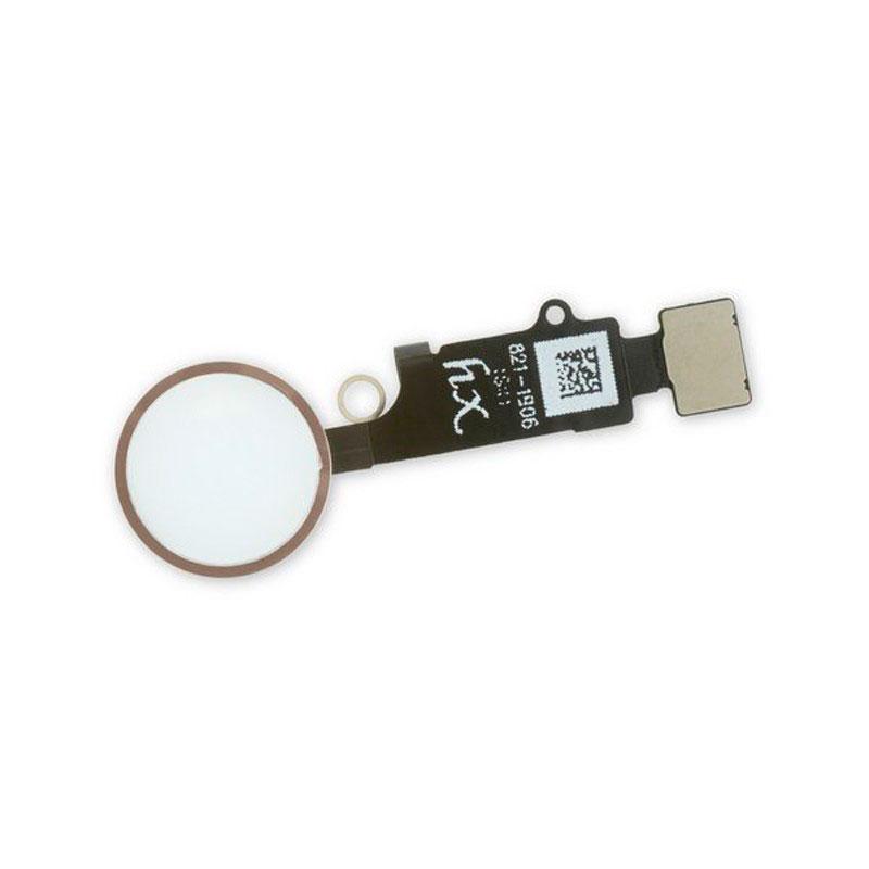 Купить Кнопка Home + шлейф (Rose Gold) для iPhone 7 | 7 Plus | 8  | 8 Plus