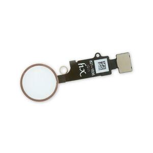 Купить Кнопка Home + шлейф (Rose Gold) для iPhone 7/7 Plus/8 /8 Plus