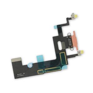 Купить Шлейф с разъемом зарядки Lightning (Coral) для iPhone XR