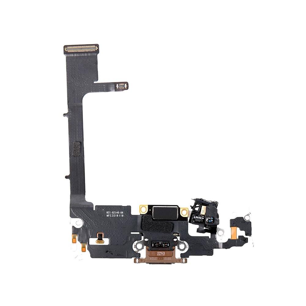 Купить Шлейф с разъемом зарядки Lightning (Gold) для iPhone 11 Pro Max