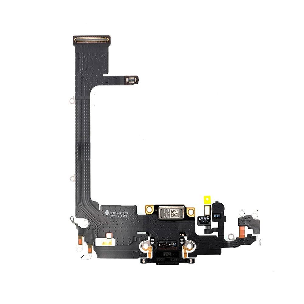 Купить Шлейф с разъемом зарядки Lightning (Space Gray) для iPhone 11 Pro Max