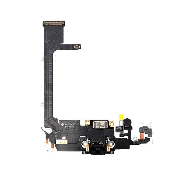 Шлейф с разъемом зарядки Lightning (Space Gray) для iPhone 11 Pro Max