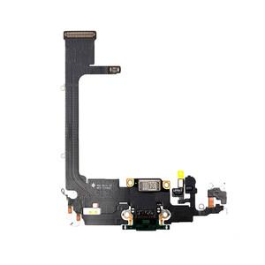 Купить Шлейф с разъемом зарядки Lightning (Midnight Green) для iPhone 11 Pro