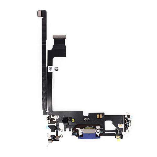 Шлейф с разъемом зарядки Lightning (Pacific Blue) для iPhone 12 Pro Max