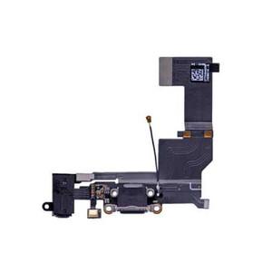 Купить Шлейф с разъемом зарядки Lightning + разъем аудио (Black) для iPhone SE