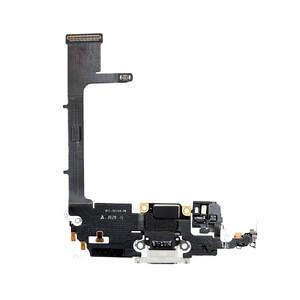 Купить Шлейф с разъемом зарядки Lightning (Silver) для iPhone 11 Pro
