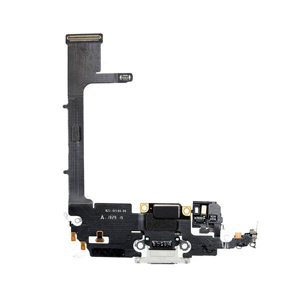 Шлейф с разъемом зарядки Lightning (Silver) для iPhone 11 Pro