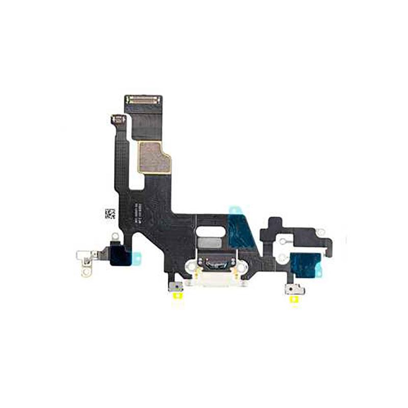 Купить Шлейф с разъемом зарядки Lightning (White) для iPhone 11