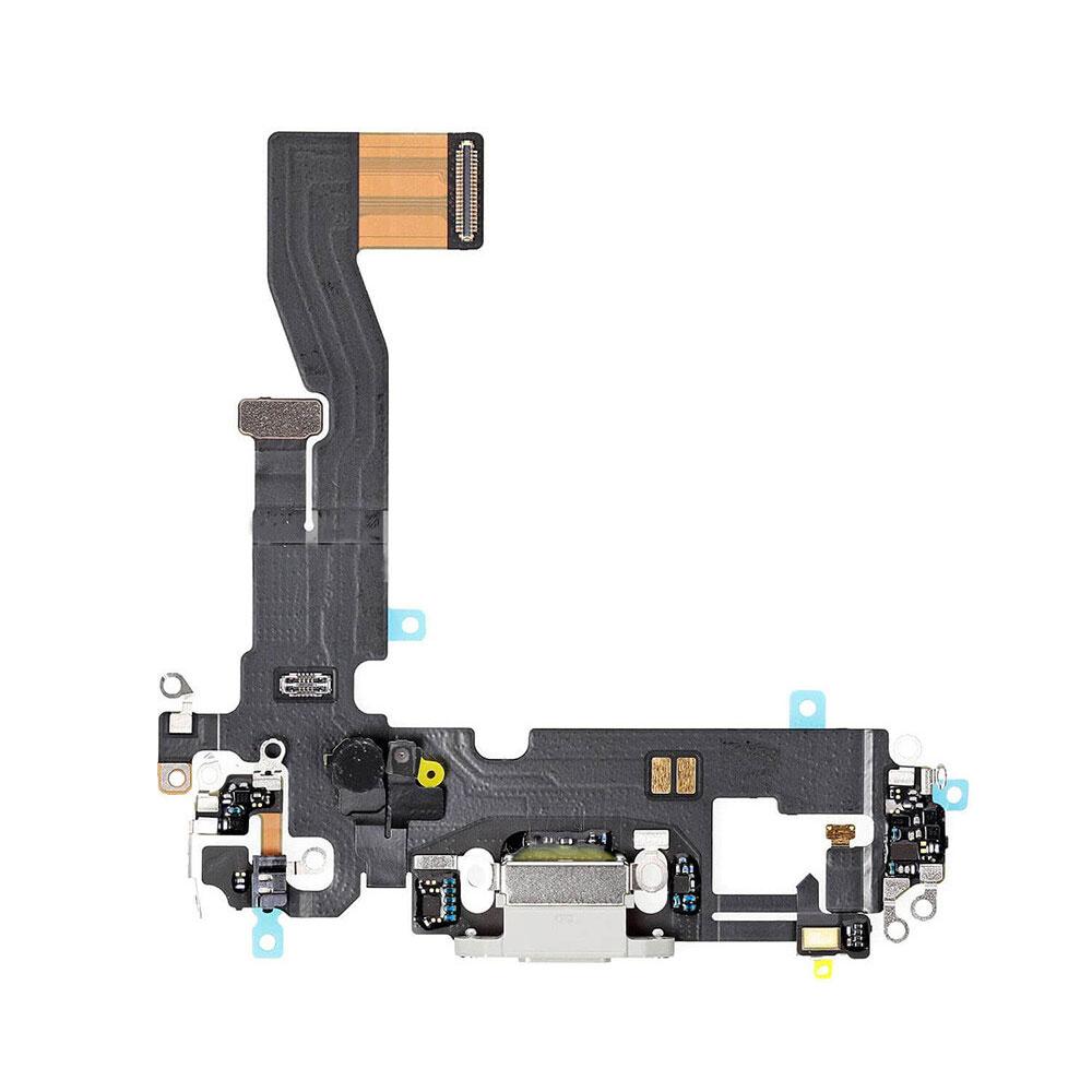 Купить Шлейф с разъемом зарядки Lightning (White) для iPhone 12