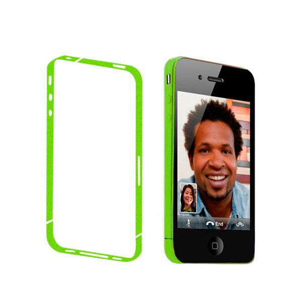 Купить Салатовая боковая защитная пленка iLoungeMax для iPhone 4 | 4S