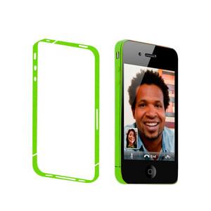 Купить Салатовая боковая защитная пленка oneLounge для iPhone 4/4S