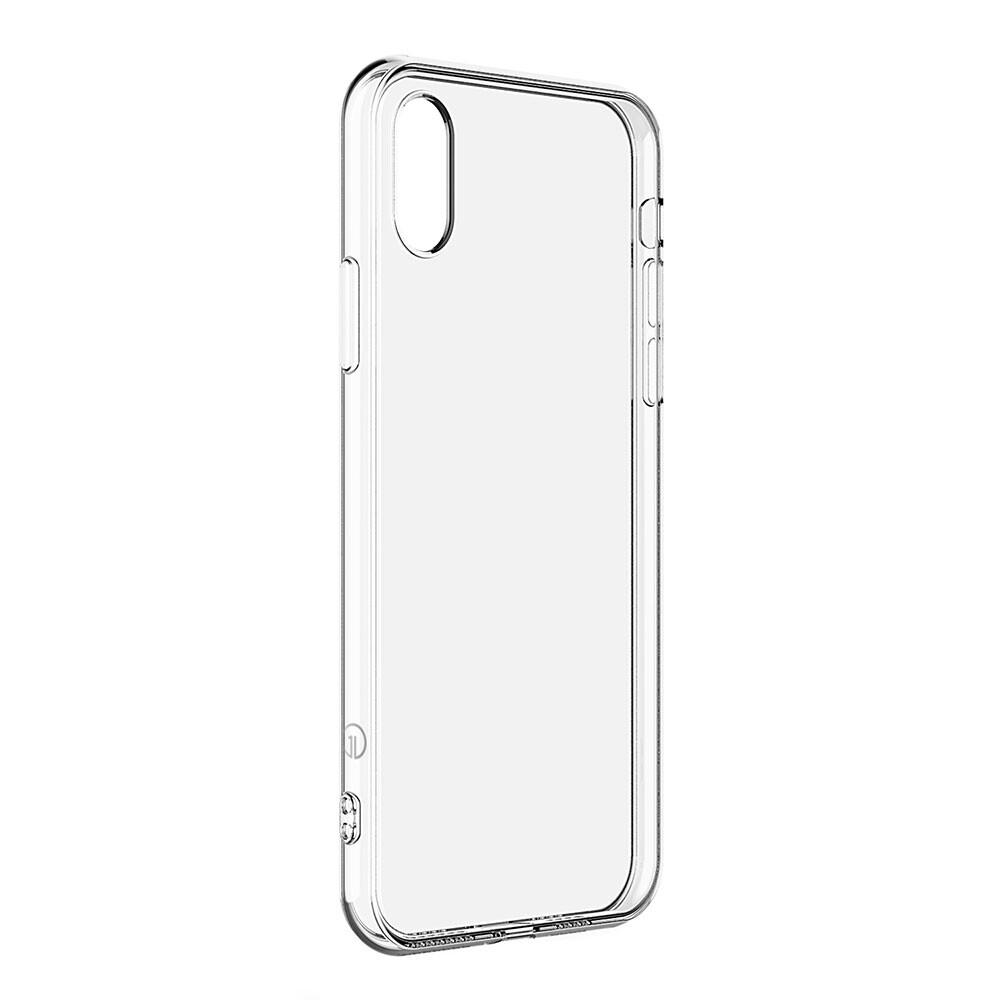 Тонкий прозрачный TPU чехол oneLounge SilicolDots для iPhone X/XS