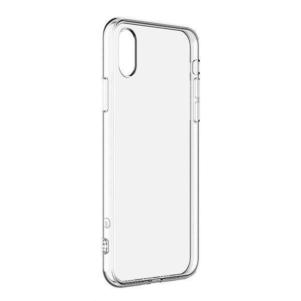 Тонкий прозрачный TPU чехол oneLounge SilicolDots для iPhone X | XS