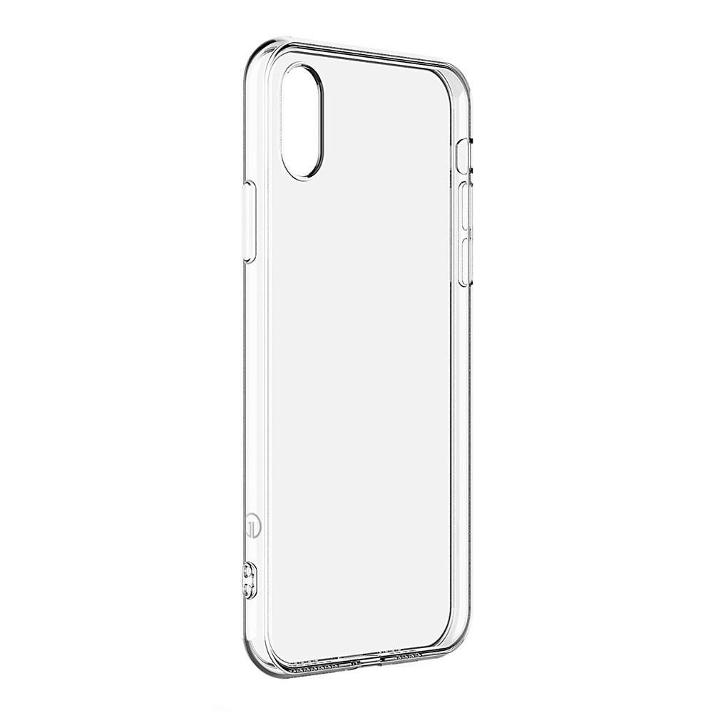 Тонкий прозрачный TPU чехол oneLounge SilicolDots для iPhone XR