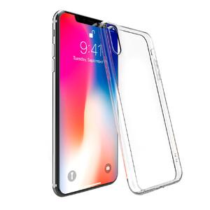Купить Прозрачный TPU чехол Silicol для iPhone XS Max