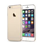 Силиконовый прозрачный TPU чехол Silicol 0.6mm для iPhone 6/6s