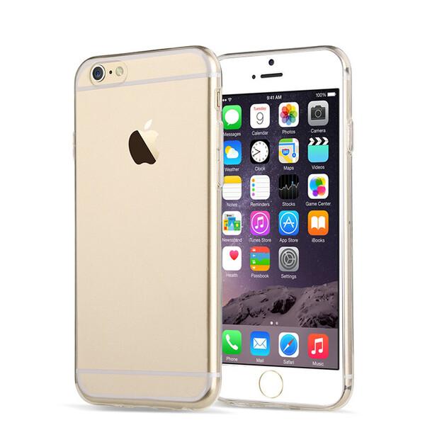 Тонкий прозрачный TPU чехол oneLounge SilicolDots для iPhone 6 | 6s